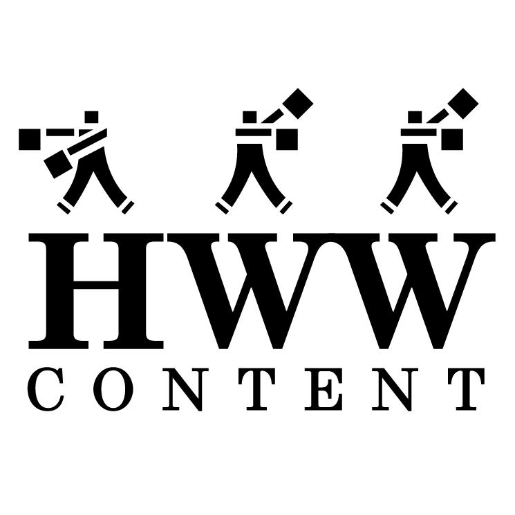 free vector Hww content