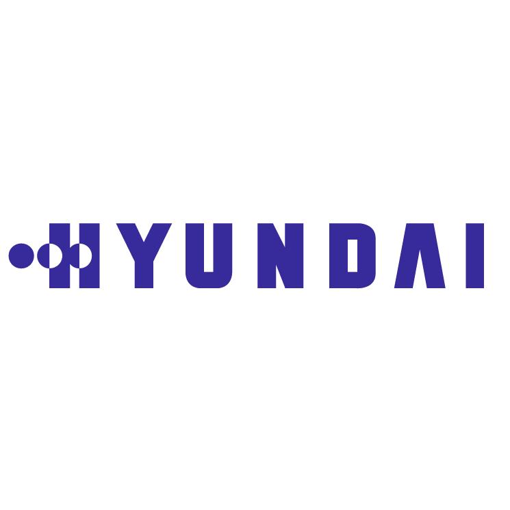 free vector Hyundai electronics industries