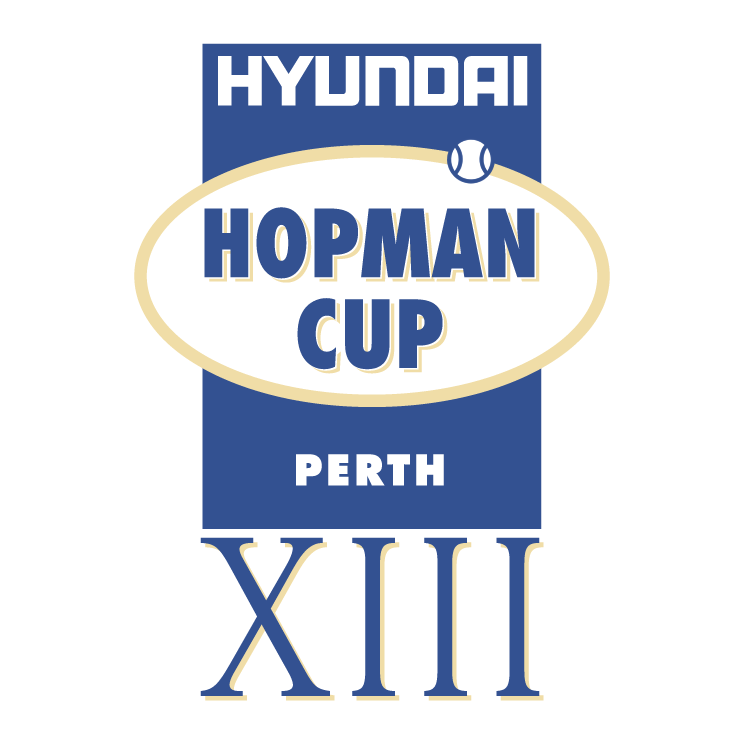 free vector Hyundai hopman cup xiii