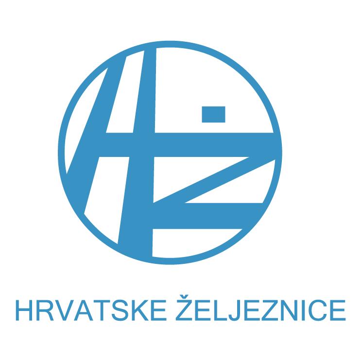 free vector Hz hrvatske zeljeznice