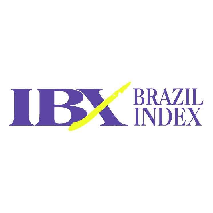 free vector Ibx brazil index