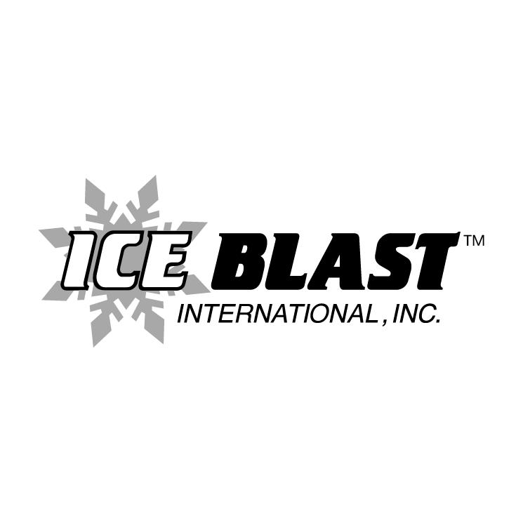 free vector Ice blast