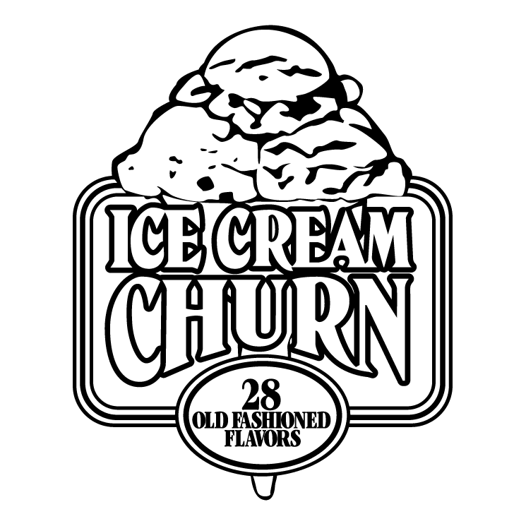 free vector Ice cream churn
