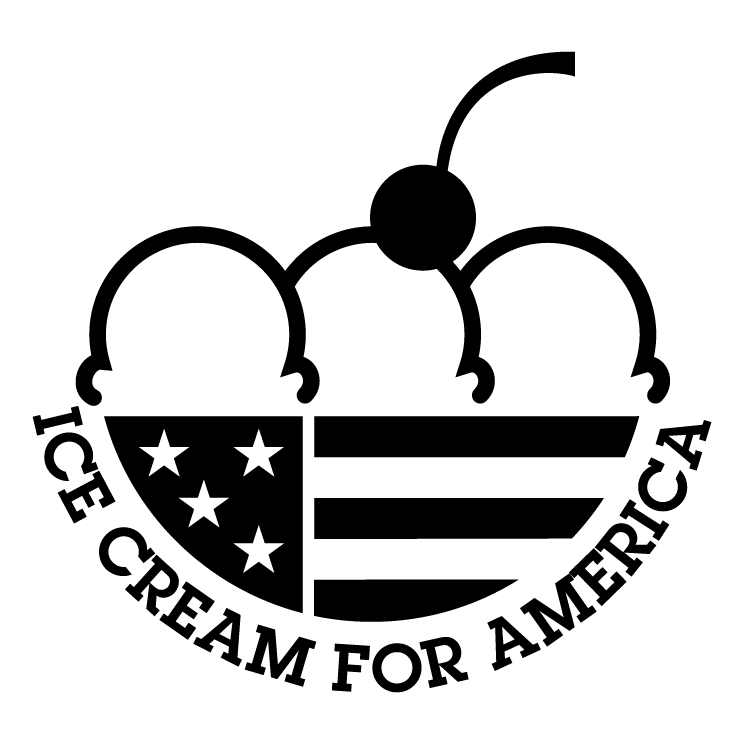 free vector Ice cream for america