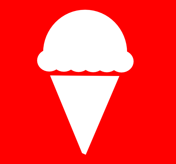 free vector Ice Cream Icon clip art