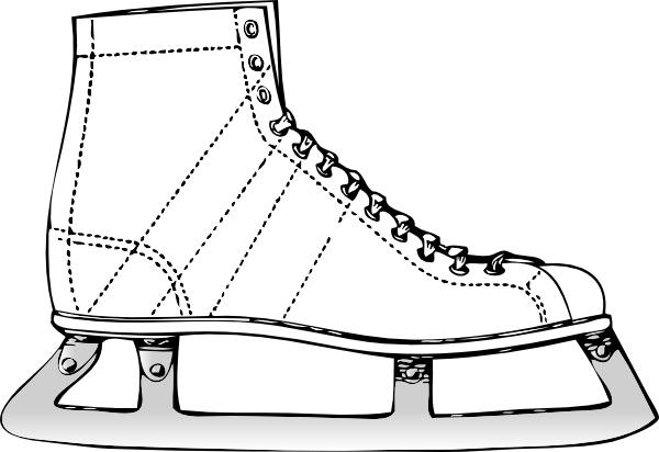 Ice Skates Clip Art Ice Skate Clip Art is Free