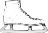 free vector Ice Skate clip art