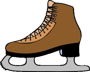 ice skate shoe clip art free vector 4vector rh 4vector com