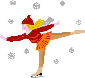 free vector Ice Skating clip art