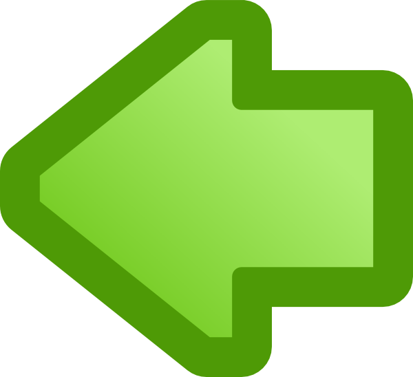 free vector Icon Arrow Left Green clip art