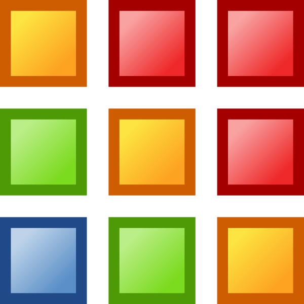 free vector Icon Colors clip art