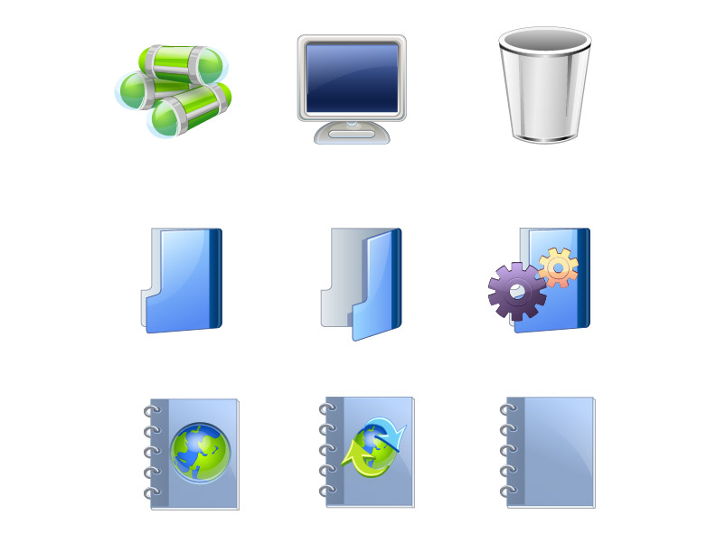free vector Icon go exquisite articles vector
