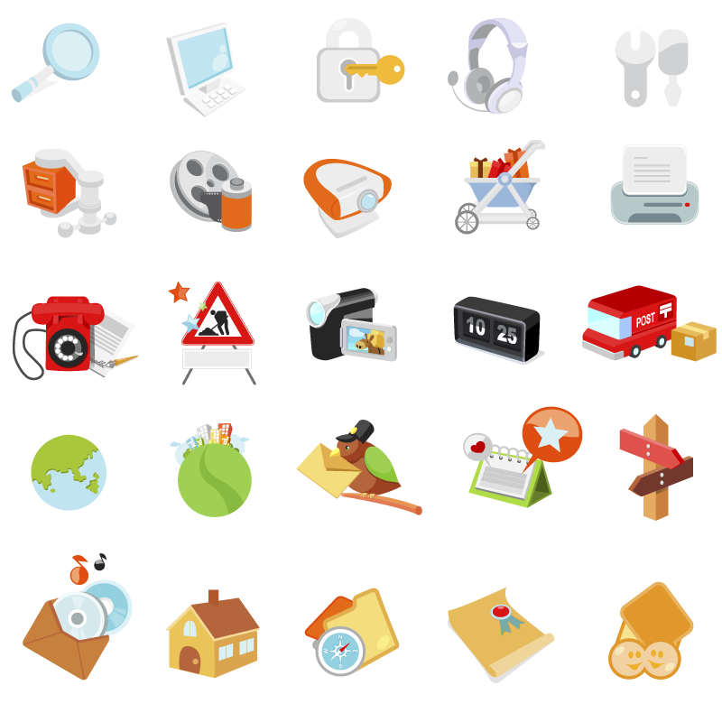 free vector Icon go live articles vector