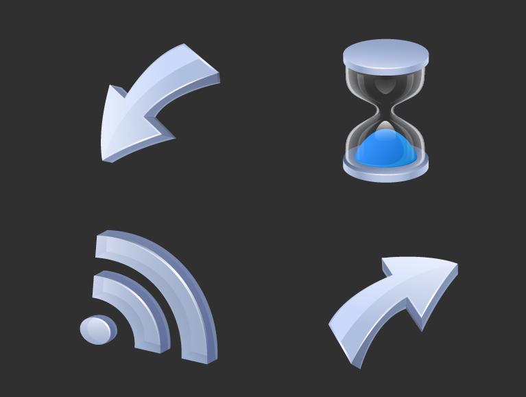 free vector Icon godimensional vector articles
