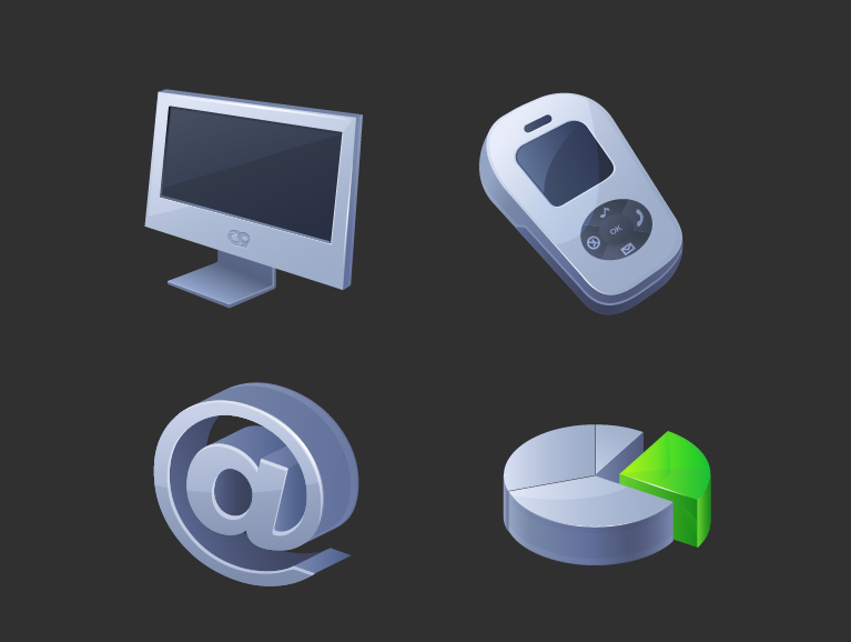free vector Icon godimensional vector articles