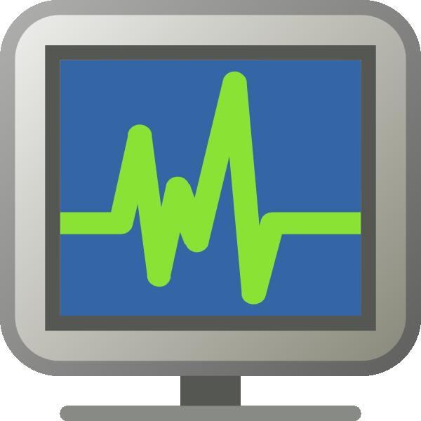 free vector Icon Monitoring clip art