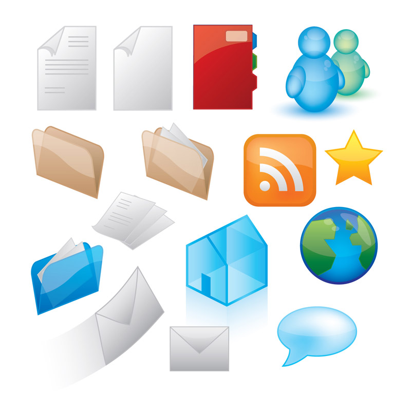 free vector Icon style vector graphics