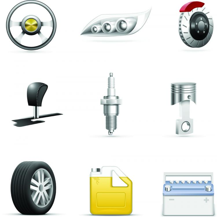 free vector Icons used daily 01 vector