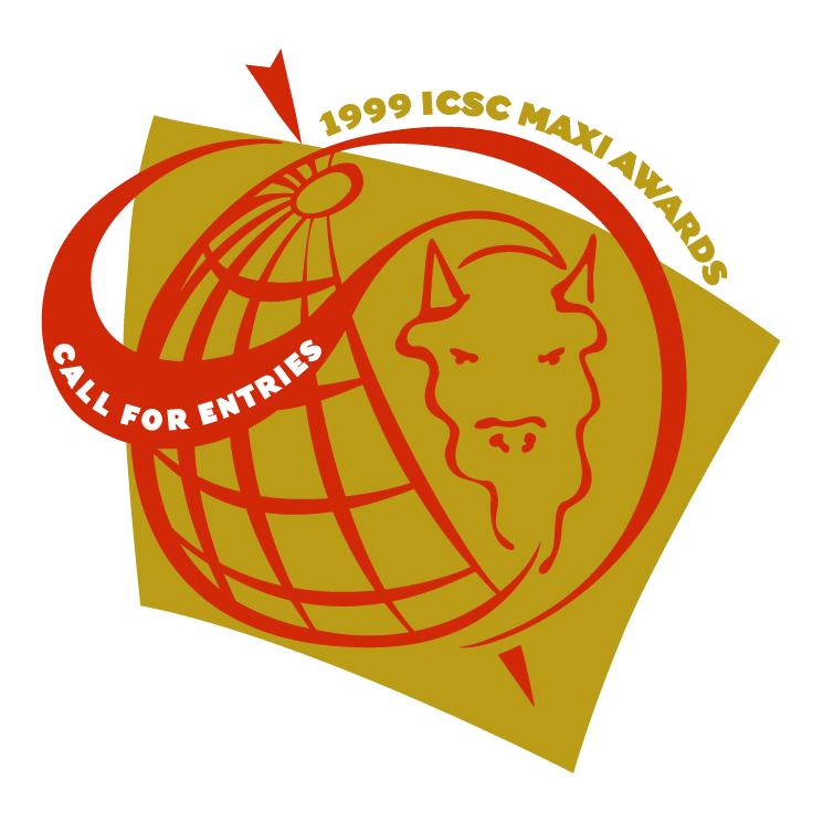 free vector Icsc maxi awards