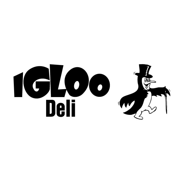 free vector Igloo deli