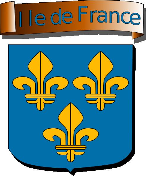free vector Ile De France clip art
