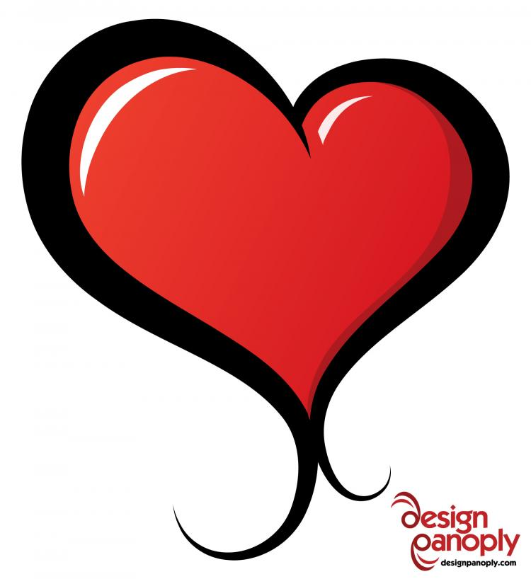 free vector Illustrated Vector Heart