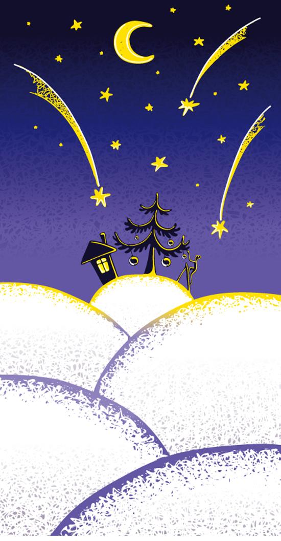free vector Illustrator vector cute christmas