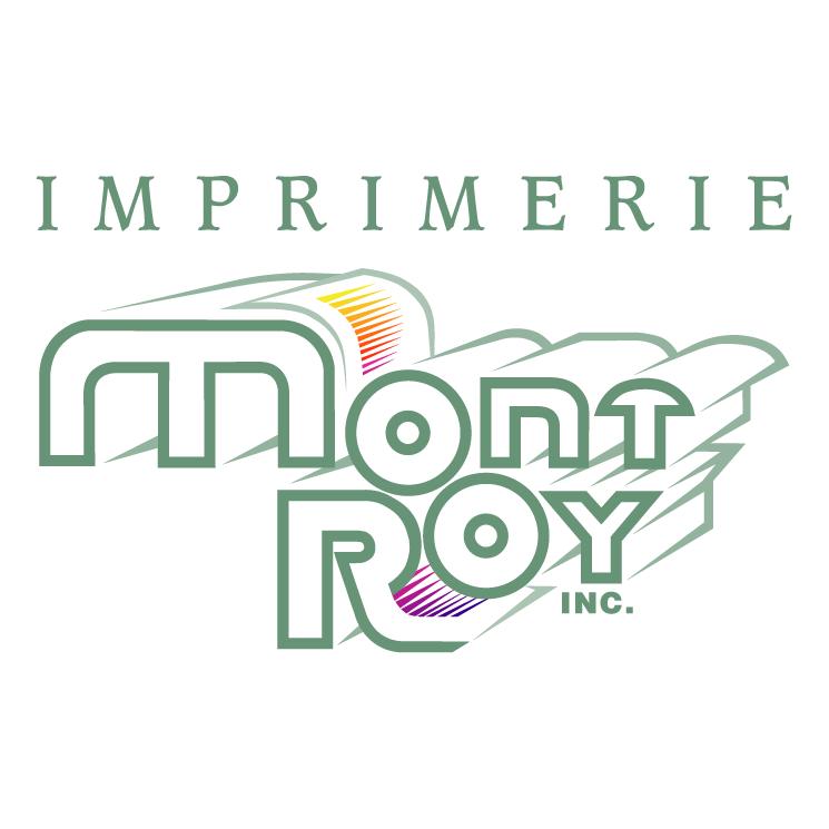 free vector Imprimerie mont roy inc