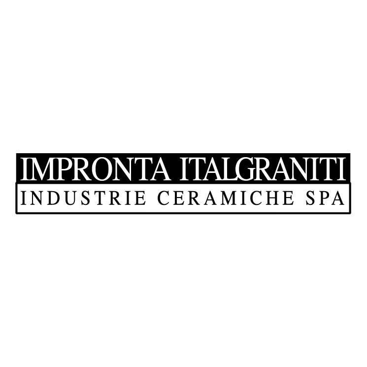 free vector Impronta italgraniti 0