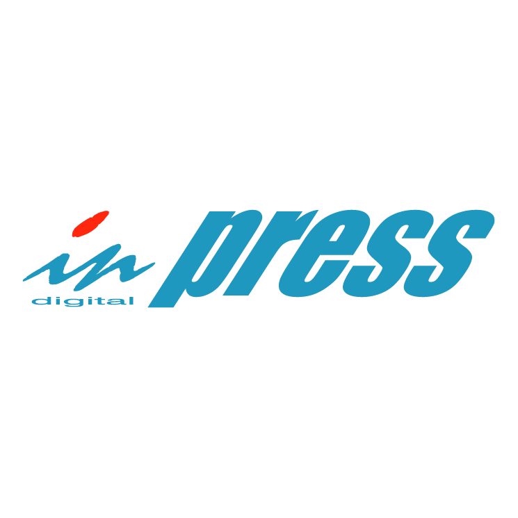 free vector In press digital
