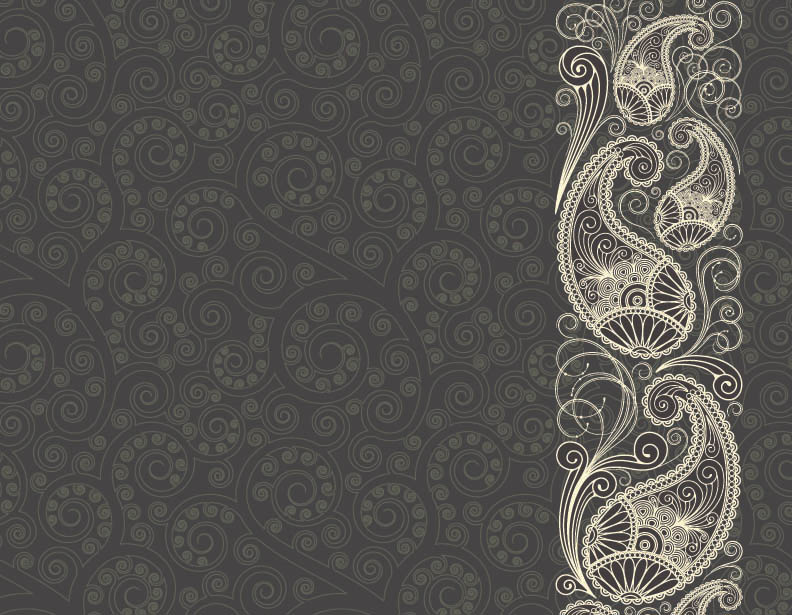 Indian patterns vector - photo#7