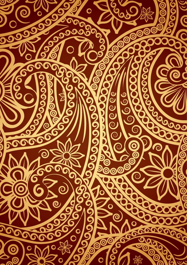 India ham pattern vector Free Vector / 4Vector