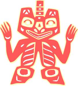 free vector Indian Historic Tribal Symbol clip art