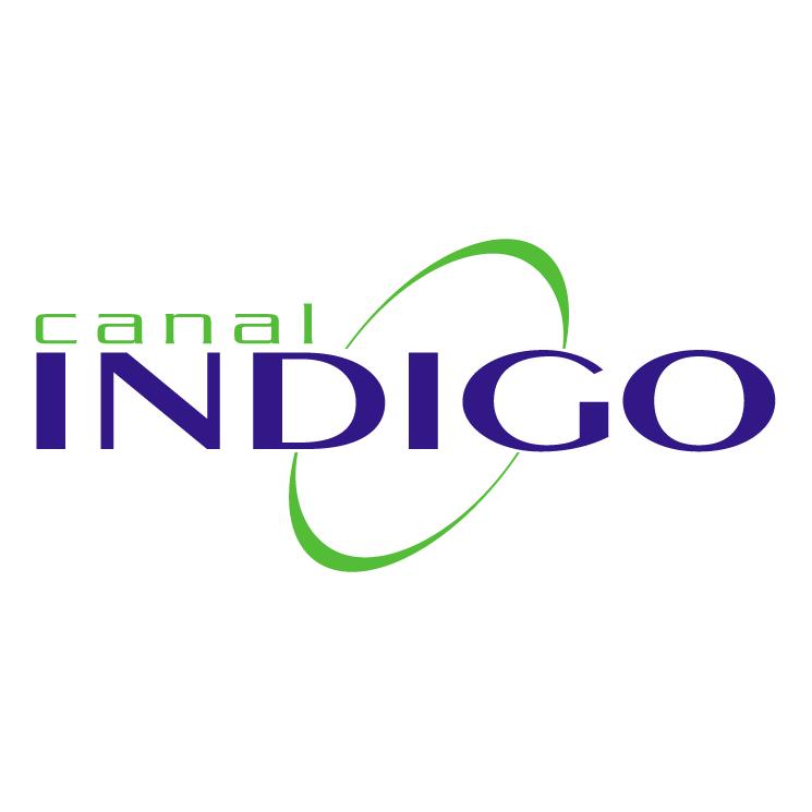 free vector Indigo canal