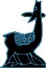 free vector Indonesian Antelope Drawing clip art