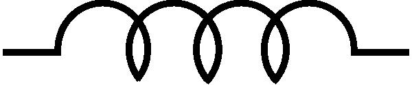 free vector Inductor Symbol clip art