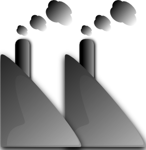 free vector Industry Smoke Smog clip art