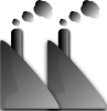 free vector Industry Smoke Smog clip art