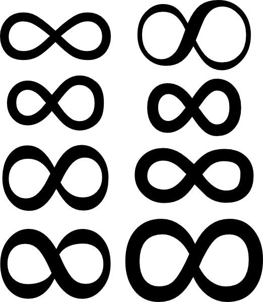 free vector Infinity Symbol clip art