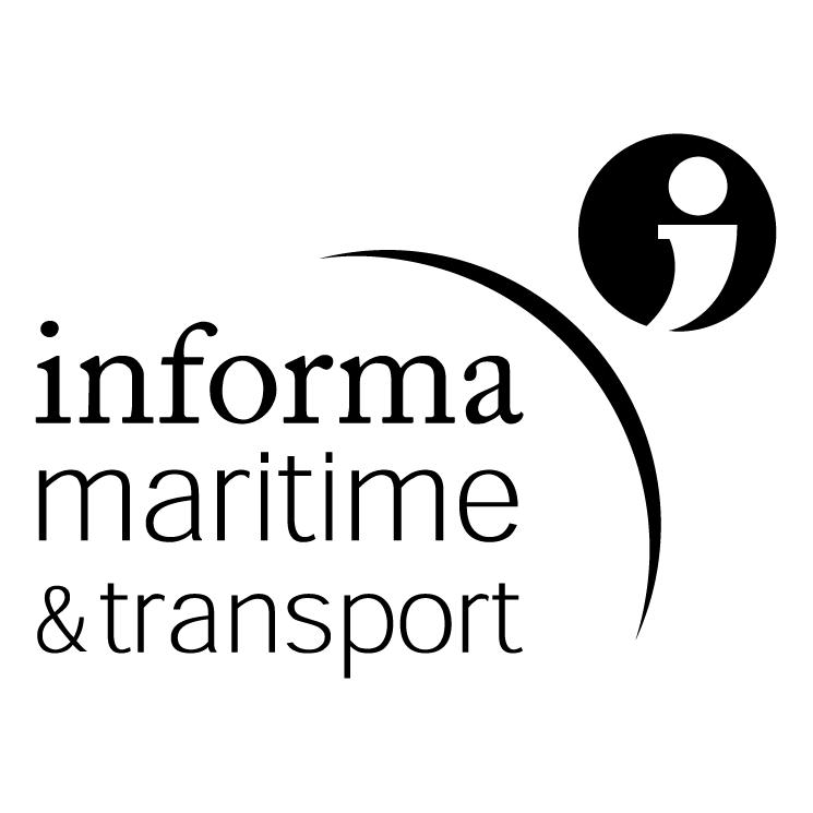 free vector Informa maritime transport