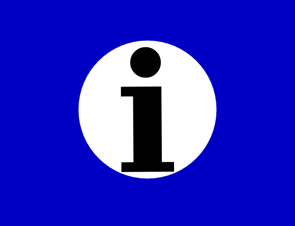 free vector Information Icon clip art