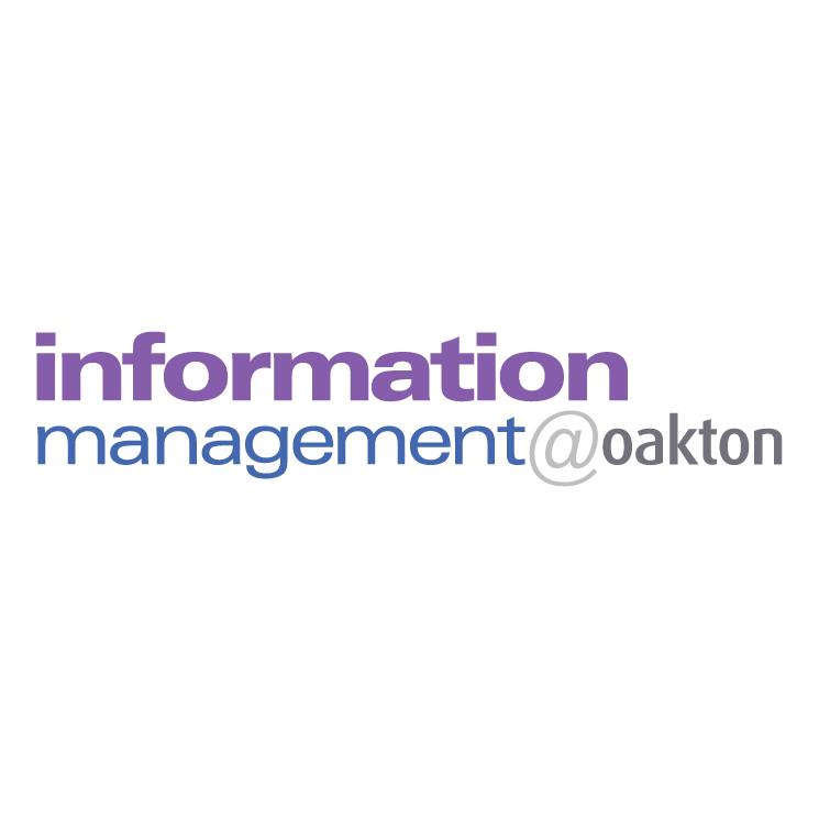 free vector Information managementoakton