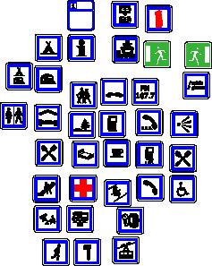 free vector Information Symbols Signs clip art