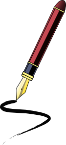 Ink Pen clip art (105837) Free SVG Download / 4 Vector