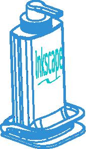 free vector Inkscape Dispenser clip art