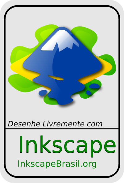 Inkscape With Brasil Logo Clip Art Free Vector 4vector