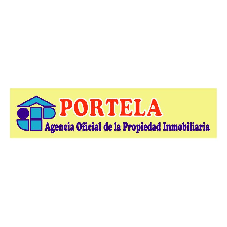 free vector Inmobiliaria portela