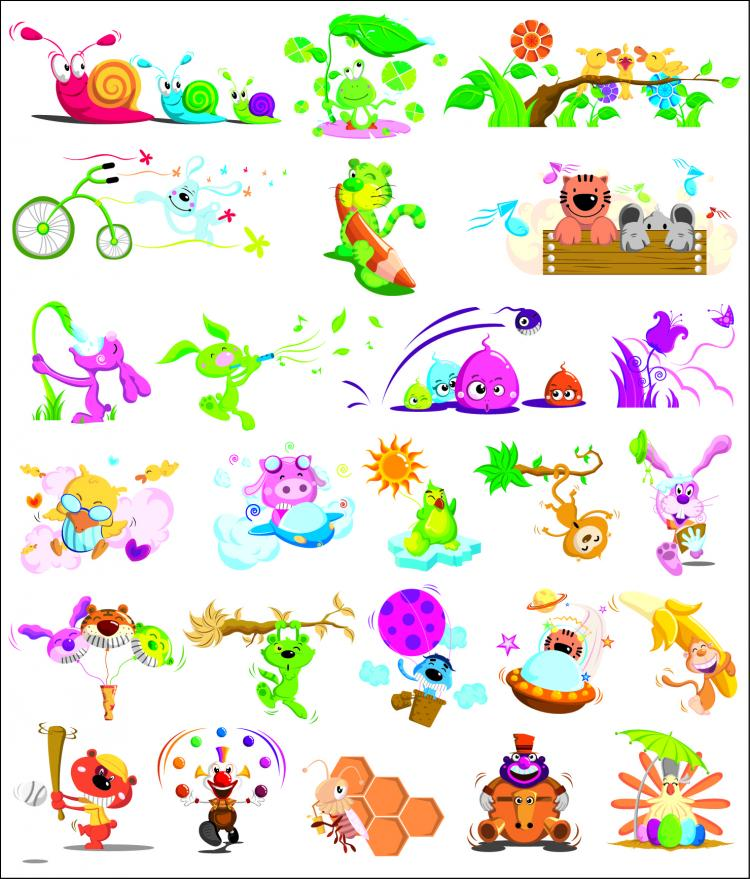 free vector Insect vectors of animal