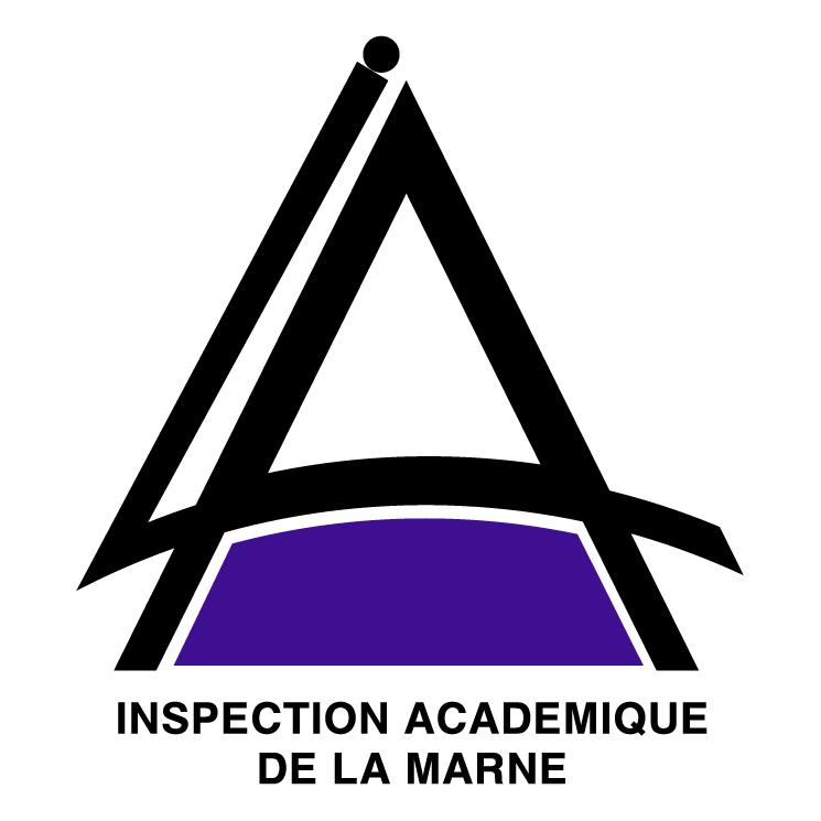 free vector Inspection academique de la marne