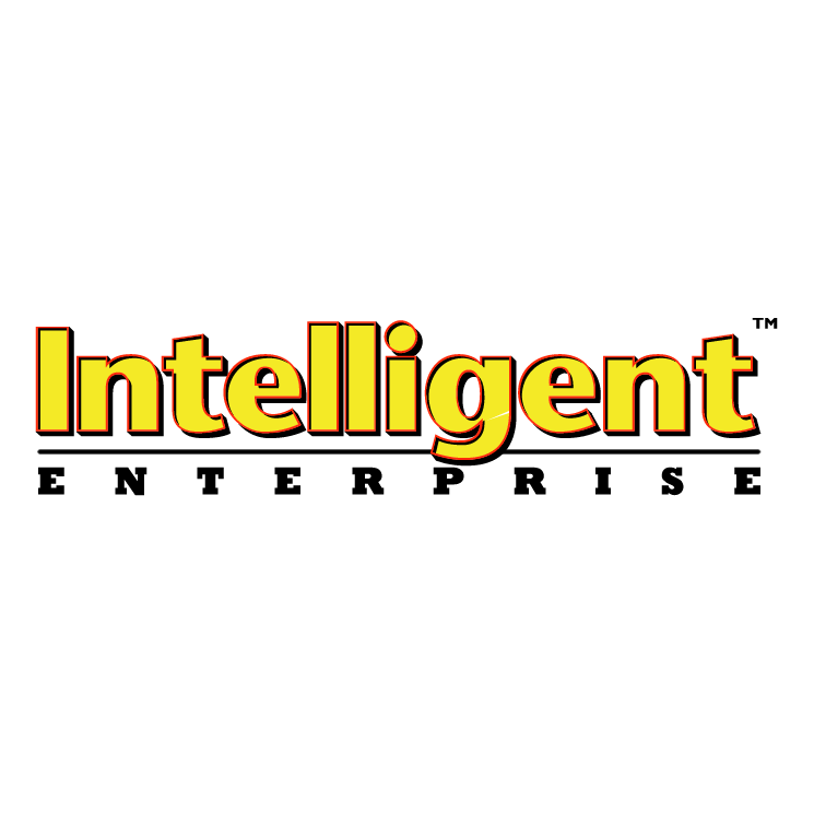 free vector Intelligent enterprise 0
